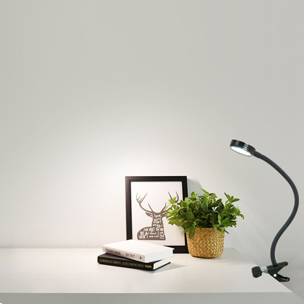Desk Lamps Table Lamp Creative LED Reading Light / Night Light Clip On For Desk Computers Hose Clip Cosmetology Nail Art Desk Lamp College Students Eye Protection Lamps