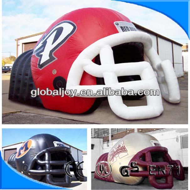 inflatable football tunnels for sports