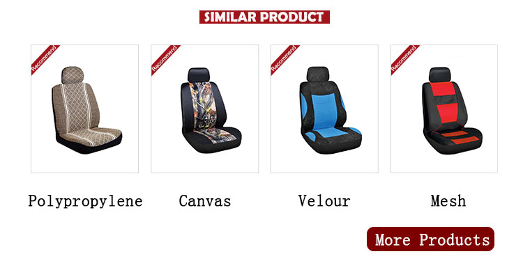 Hot style eco friendly luxury car seat cover