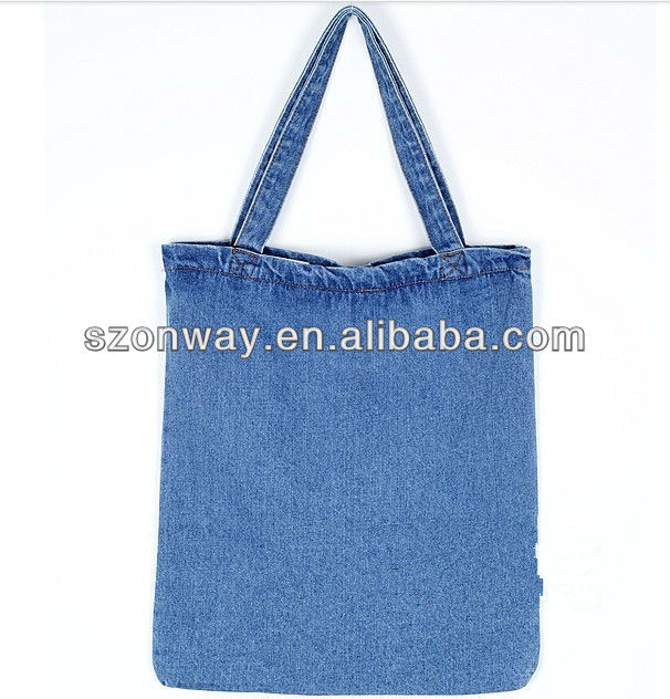 durable and cheap denim bag for ladies