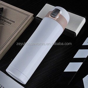 Insulated Stainless Steel Thermos Vacuum Bottle Hot Thermos White Color Flask