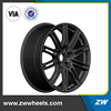 ZW-P456 130mm*5 Car Forged 20 inch Aluminum Alloy/Steel Wheel Rim