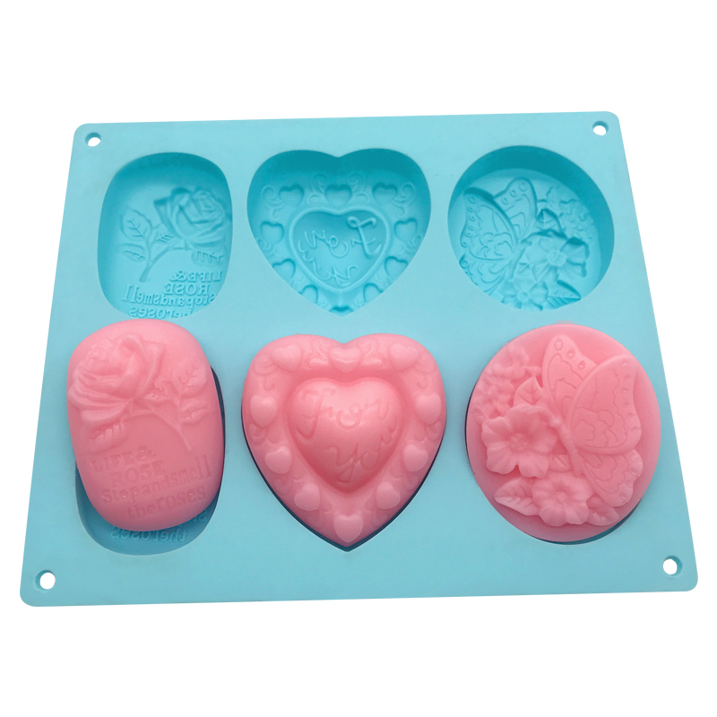 BPA free silicone mold for soap,Wholesale Custom Silicone Soap Molds,Silicone rose soap фото