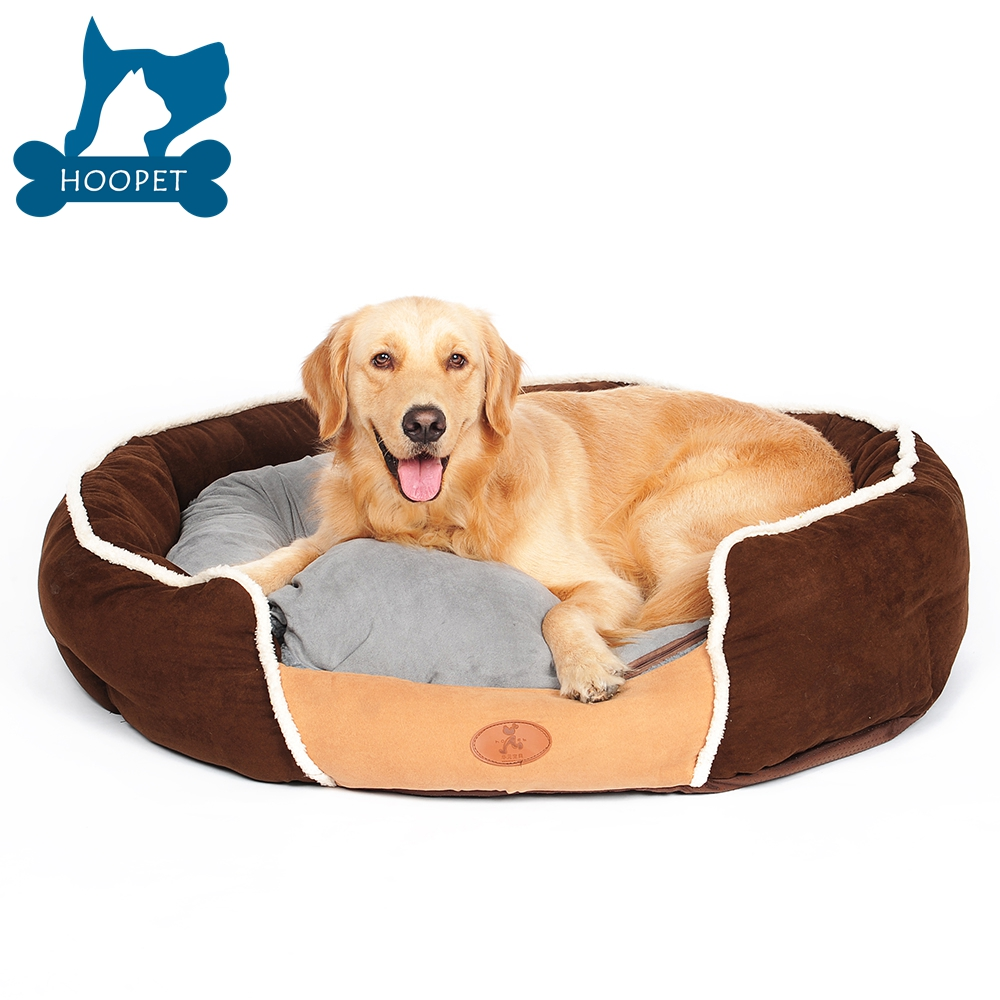 2017 Wholesale Pet Beds Faux Suede Dog Bed House Cat House