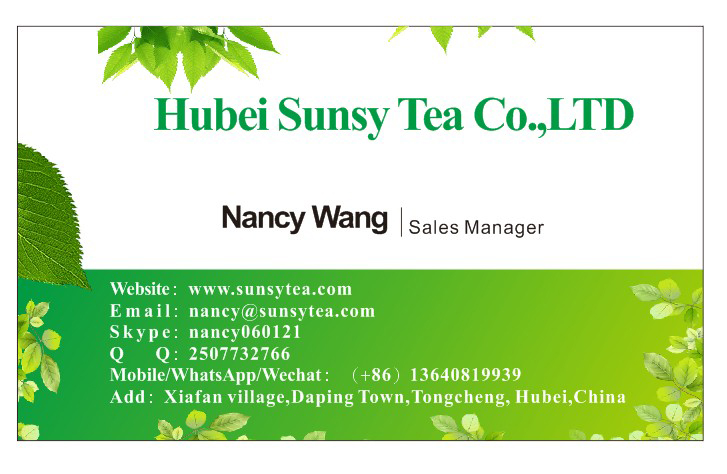 China famous  tea Wulong /Oolong Tea  Tie Guan Yin  Factory