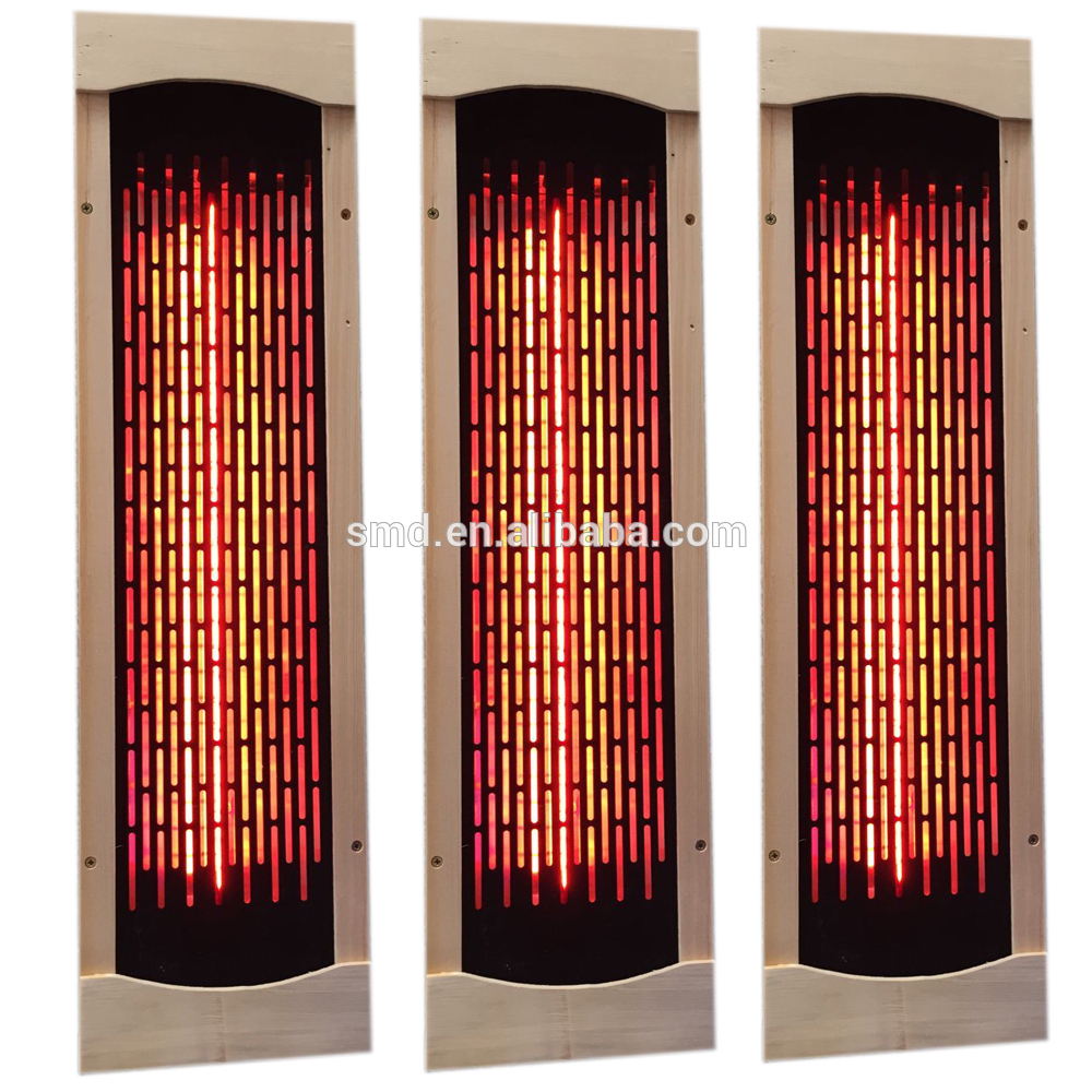 Sauna Spare Parts Far Infrared Ceramic Heater with red light