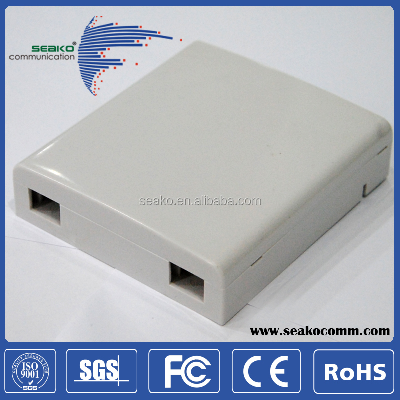 2 cores Indoor Optic Terminal Box/2 port FTTH Terminal Box
