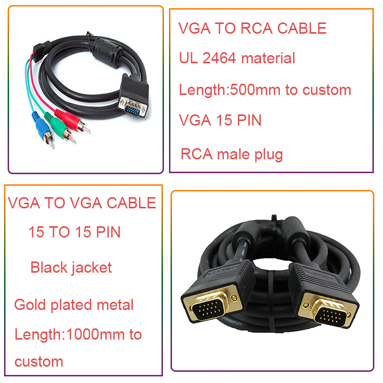 Wiring Diagram Vga Cable - Buy Cable Vga,Vga Cable 30m,Vga Cable 8m on rca plug wiring, speaker diagram, rca service manual, rca pinout diagram, rca jack wiring, rca accessories, rca schematics, rca audio diagram, rca jack connector diagram, rca remote programming,