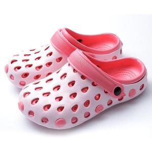 0485e3a52a44 EVA Women Clog Summer Croc Beach Shoes Hollow Out Sandals Hole Breathable