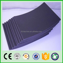 natural rubber foam material with various fabric top in 36""