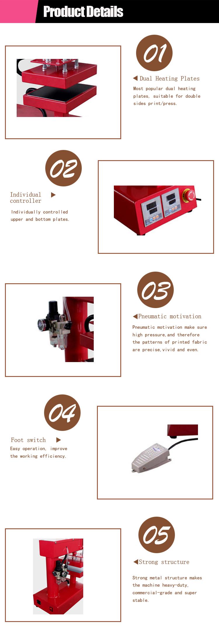 China Supplier Automatic Custom Dual Heating Plates Sticker ...