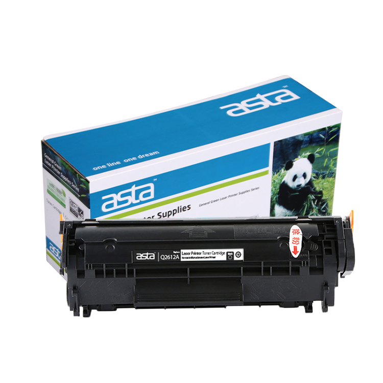 Asta Premium Q2612A 12A Toner Cartridge untuk 12A 1010/1018/1020 Printer