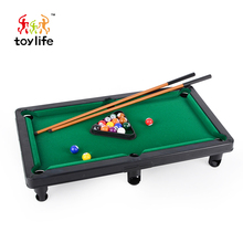 Wholesale low price children snooker billiard game mini pool table for sales