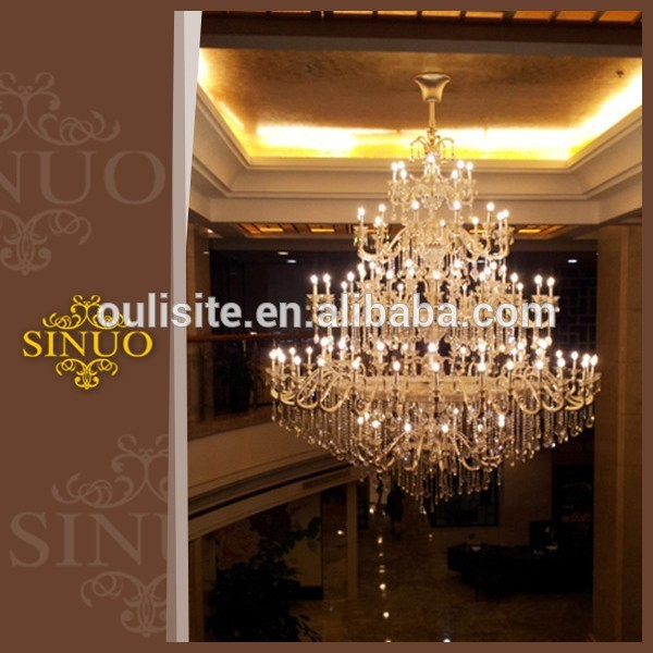 European style home crystal pendant lights chandelier parts