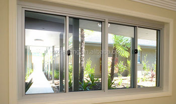Small sliding window price of aluminium sliding window for Thermal windows prices