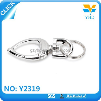 high strength metal double sided snap hook wholesale