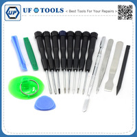 Manufacture King'sdun 16 In 1 High Precision DIY Opening Screwdriver Tool kits For Iphone, Samsung, Nokia,HTC,LG etc
