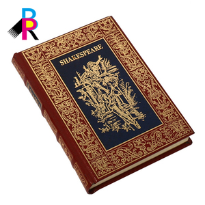 Customized Printing Foil Stamping Antique Delicate Luxury Classical Hardcover Book with Prefect Binding