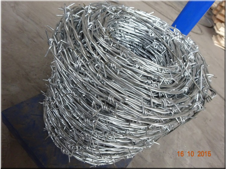 Cheap Pvc Coated Hot Dipped Galvanized Military Bulk Weight Barbed Wire