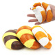 Bulk cheap squishy squeeze rubber hamburger toys for kids