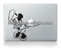 mickey mouse cooking 3m sticker for apple vinyl MacBook pro 15.4