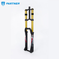27.5 inch double crown fork suspension front fork downhill mountain bike