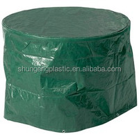 anti uv polyester with pu coated and plastic garden/outdoor/patio furniture/table/chair cover
