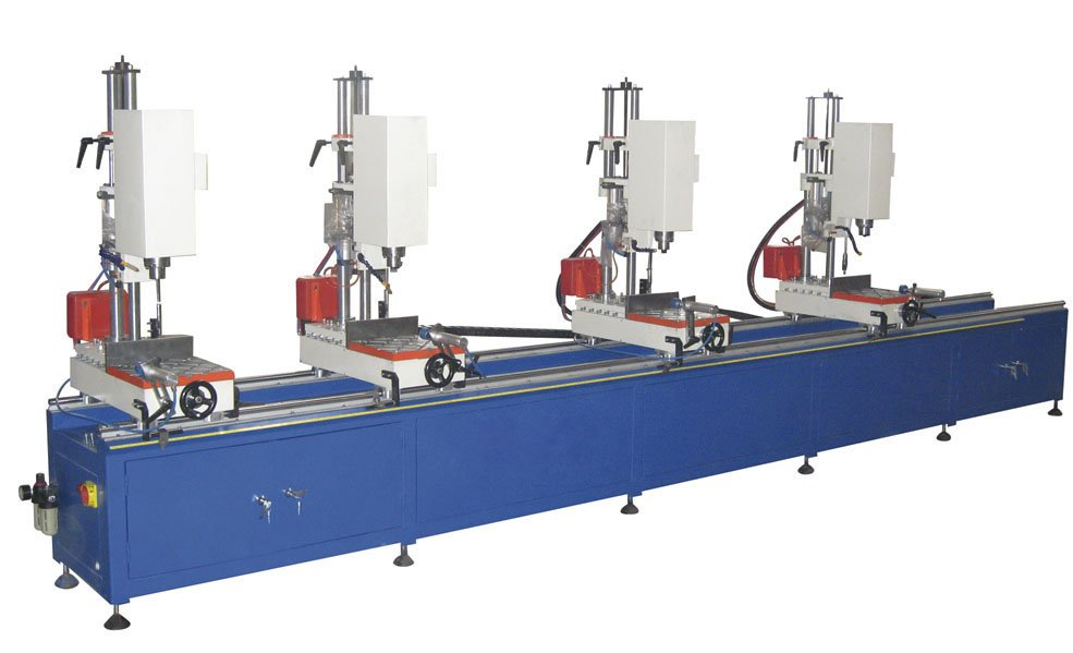 aluminium profile drilling machine