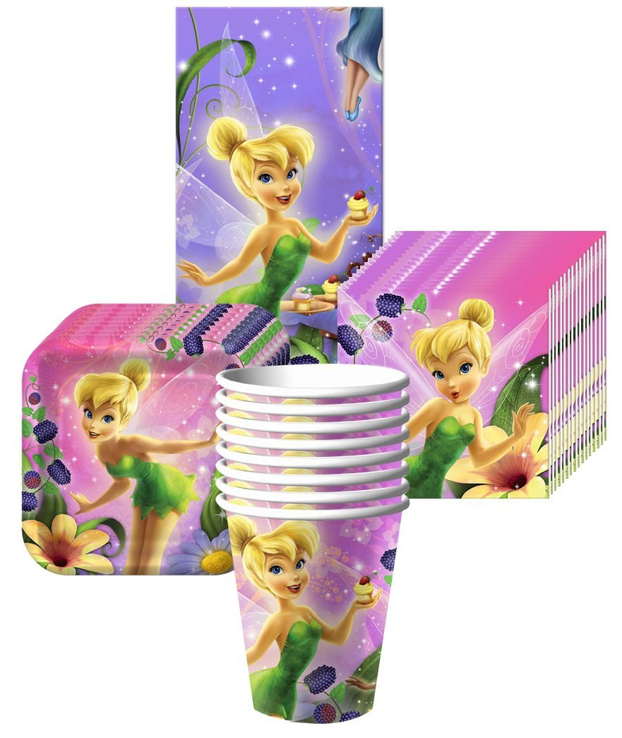 Get Quotations · Tinkerbell Sweet Treats Party Supplies Pack Including Plates Cups Tablecover and Napkins - 8  sc 1 st  Alibaba & Cheap Tinkerbell Party Supplies find Tinkerbell Party Supplies ...