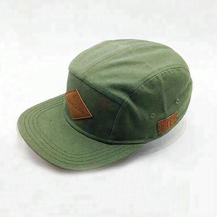 2bb0e2ee2e8 Custom New Design Nylon Snapback 5 Panel Camper Cap And Hat