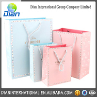 Fashionable coated Paper Gift Bag ,Laminationed Gift Bags