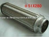 stainless steel auto muffler exhaust flexible pipe