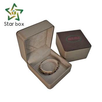 Wholesale Unique Pu Jewelry Boxes Pu Leather Jewelry Bangle Gift
