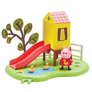 Peppa Pig Peppa's Outdoor Fun Slide Playset With Peppa Figure