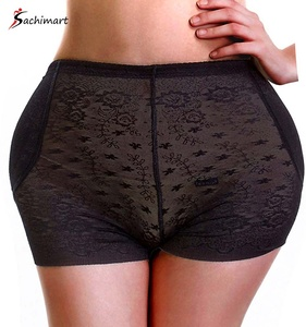 Leading Women Lace Thong Sexy Padded Panties Hip Enlargement Machine Body Shapewear Waist Slimming Shaper Butt Lifter