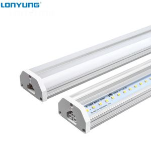 Linkable ETL DLC TUV SAA T5 Led Linear Light Fixture, 4Ft - 8ft 30W 60W Dimmable T5 Led Integrated Double Tube Lights