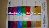 bright colors aluminum foil paper