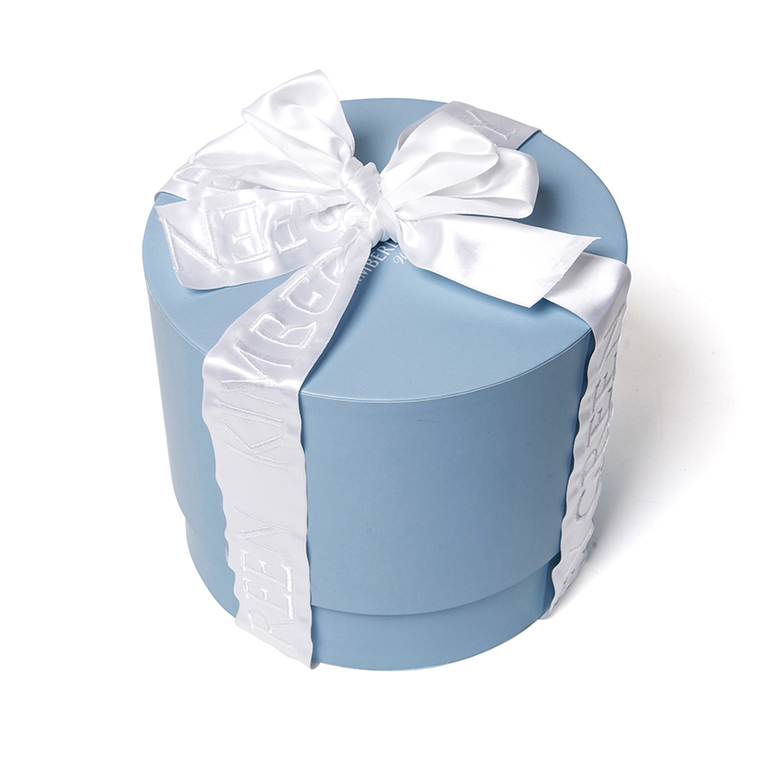 Custom round cylinder beautiful gift boxes with lid