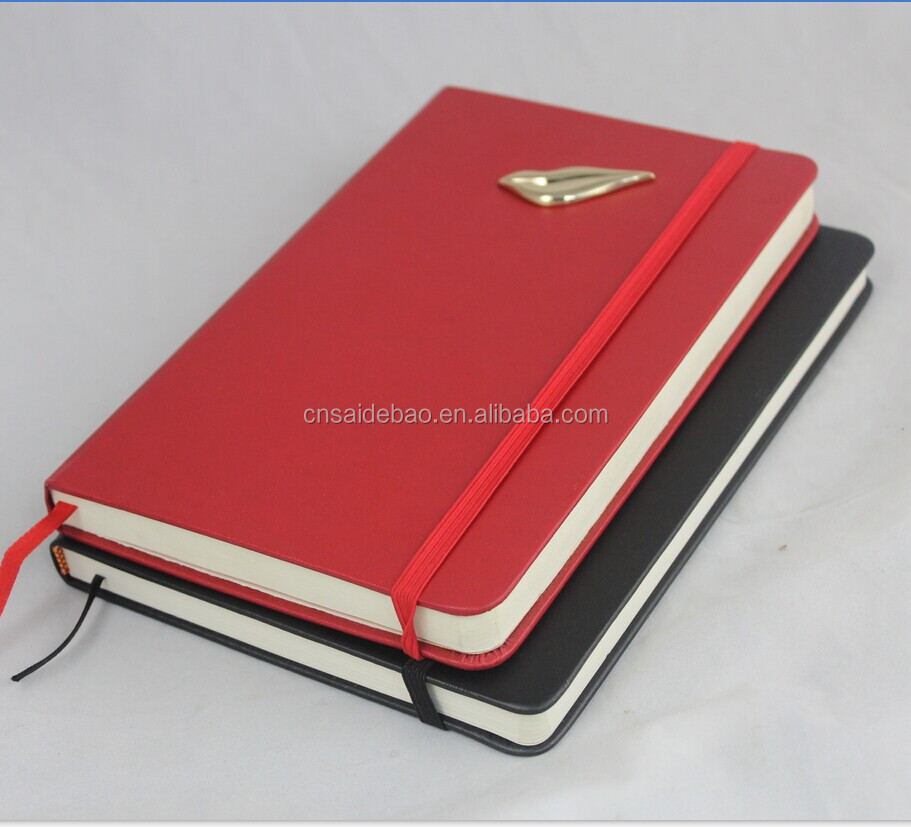 2015 Hot Sell Moleskin Notebook, Direct Factory Notebook With Custom logo colorful colour