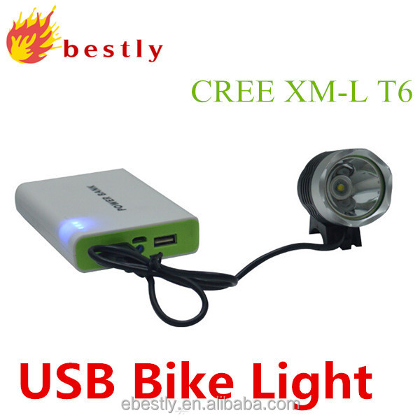 1800 lumen high power cree xml T6 led Light xe đạp bike ánh sáng