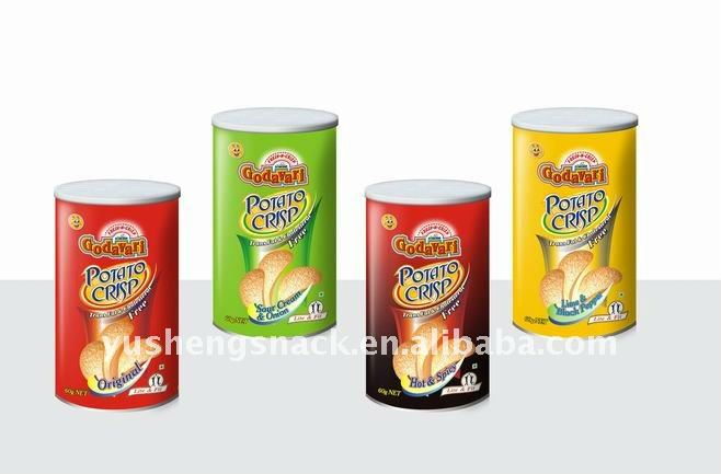 product detail Pringles style Potato Chips