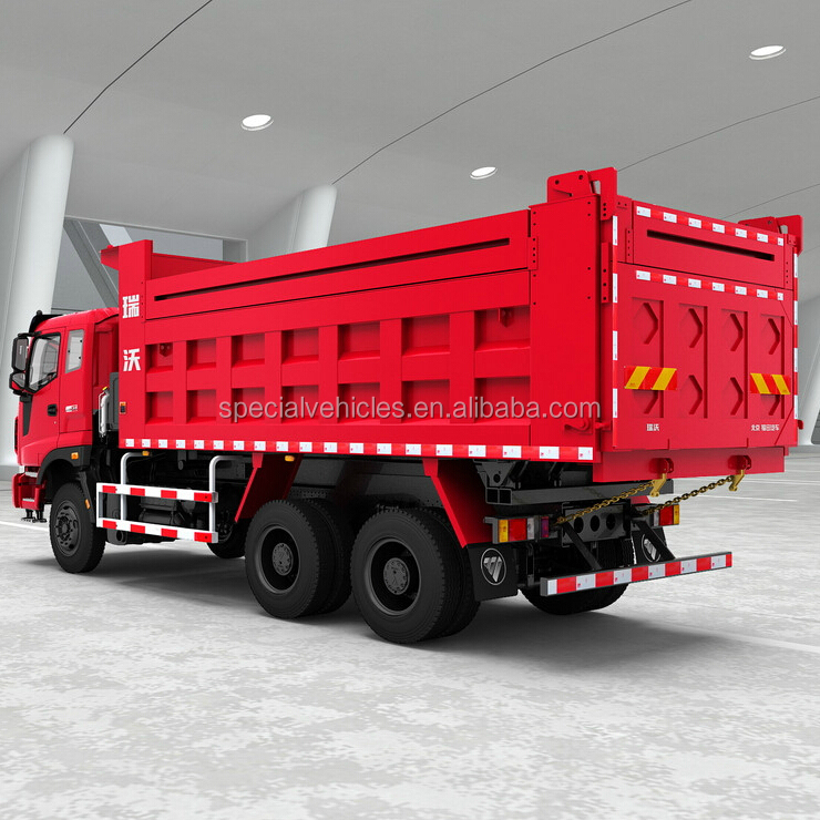 Ruvii Vehicle Mass Customization 12 gear transmission Benz16 Rear Axle 6x4 Dump truck