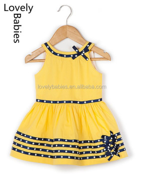 Baby girl dress patterns 2016 fancy cotton frocks sleeveless designs dress