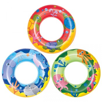 Bestway Sea Adventures Swim Ring Inflatable Rubber Ring Tube For ...