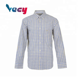 Checked Multi-Colored 100% Cotton Business Shirts For Men