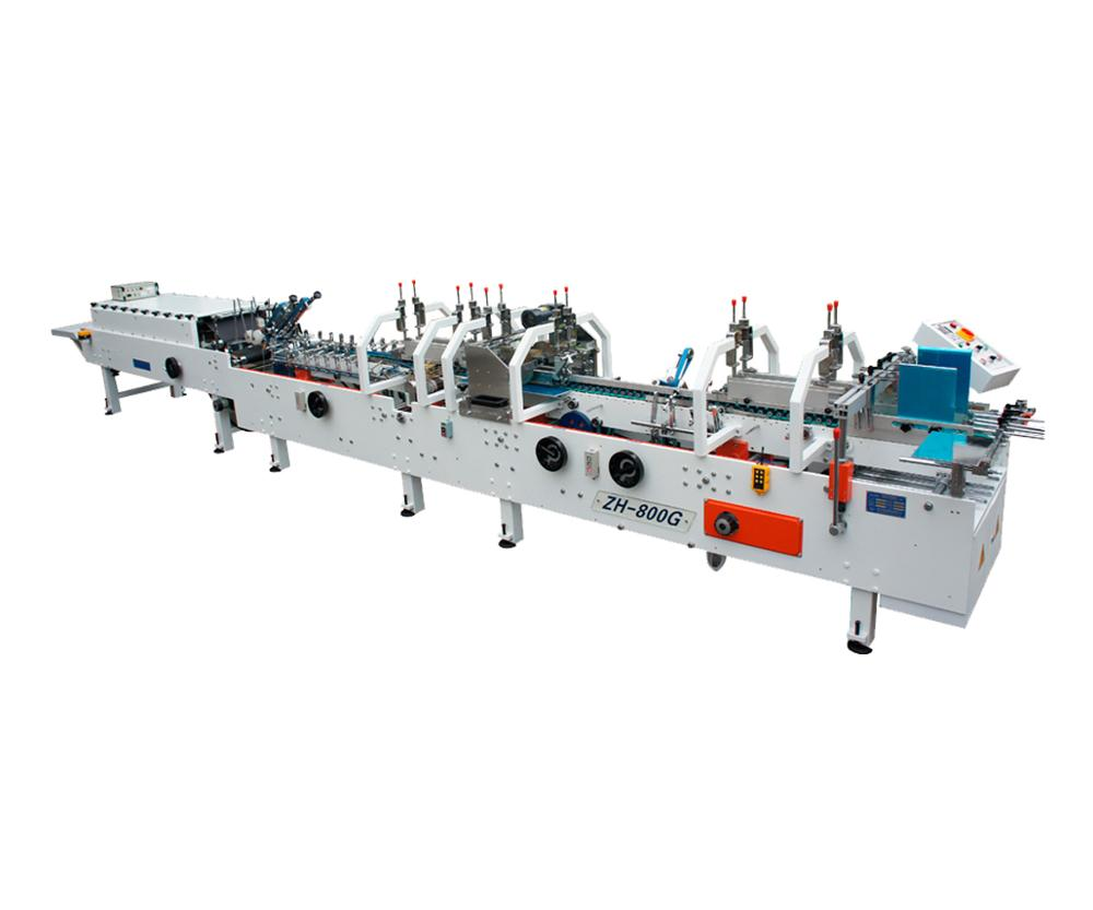 ZH-880G Automatic Folder Gluer/Pasting box machine