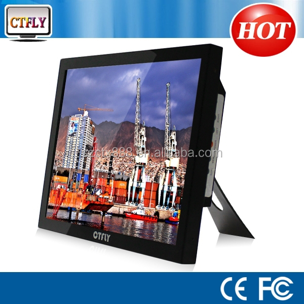 "15 inch lcd monitor 1280x800b lcd monitor industrial 15"" monitor touch industry machine"