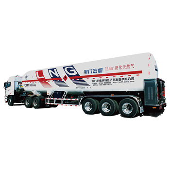 52.6M3 LNG Liquefied Natural Gas Trailer 23.8 ton LNG Tank Truck