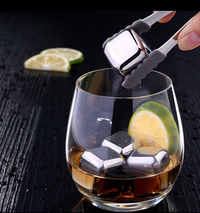 Rapid Cooling Metal Never Leak Melt Ice Cube Whisky Glass Whiskey Stone Ice Cubes Whiskey Stone Alternative