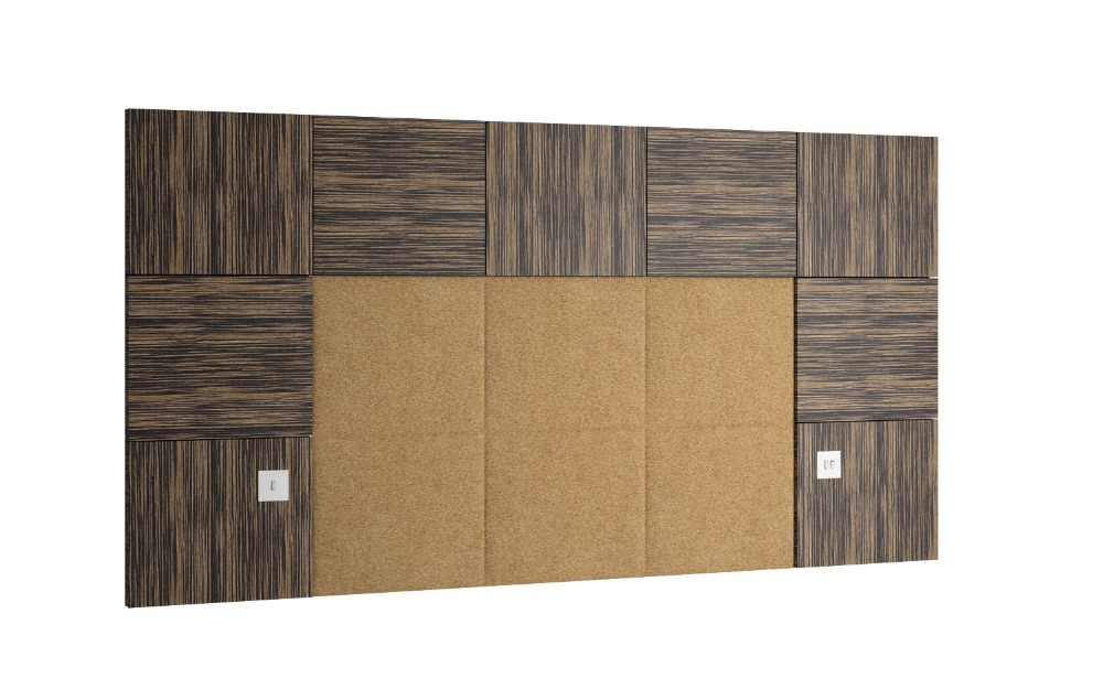 hotel bedroom headboard king size queen size color and material optional